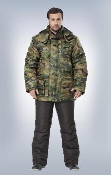 Куртка Сталкер утеплённая КМФ Нато