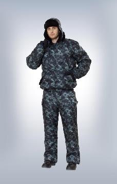 Куртка охранник утеплённая КМФ Город