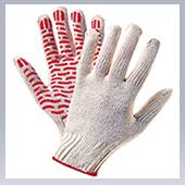 Перчатки ХБ с ПВХ (10 класс) Волна