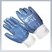 Перчатки Нитриловые трикотажный манжет полный облив