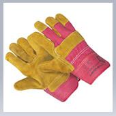 Перчатки комбинированные спилковые Тралл