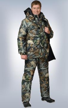 Костюм Снайпер утеплённый КМФ Тёмный Лес